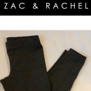 Zac and Rachel charcoal gray leggings